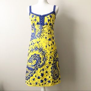 Beth Bowley Empire Waist Embroidered Sample Dress